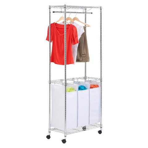 Urban Laundry Center with Casters