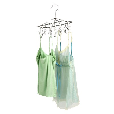 ECOM Honey-Can-Do Hanging Drying Rack with 12 Clips
