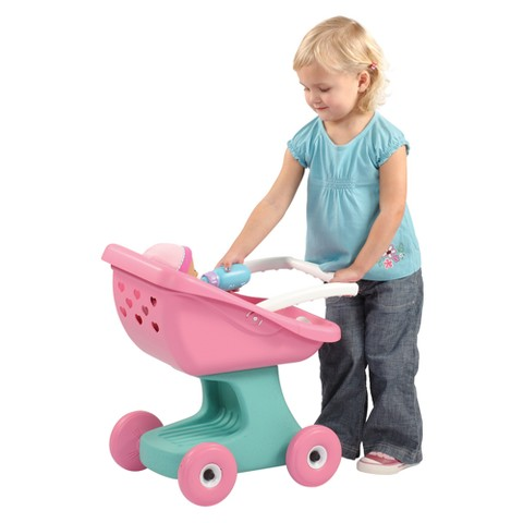 Step 2 little helpers doll stroller and carrier product details page