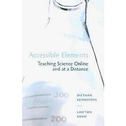 Accessible Elements (Paperback)