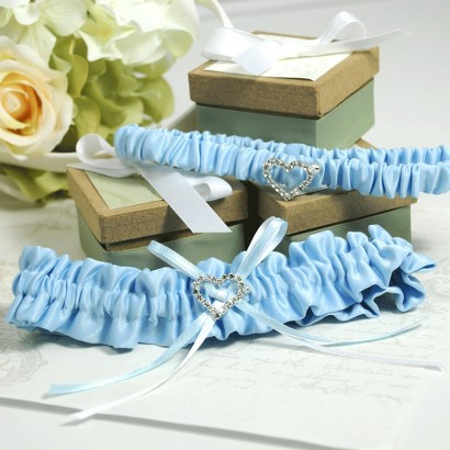 Blue Crush Garter Blue