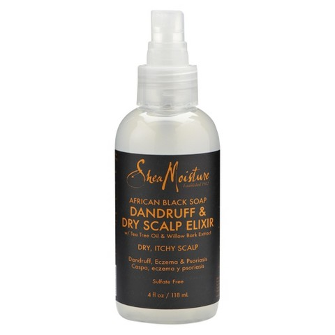 SheaMoisture African Black Soap Dandruff & Dry Scalp Elixir - 4 fl oz