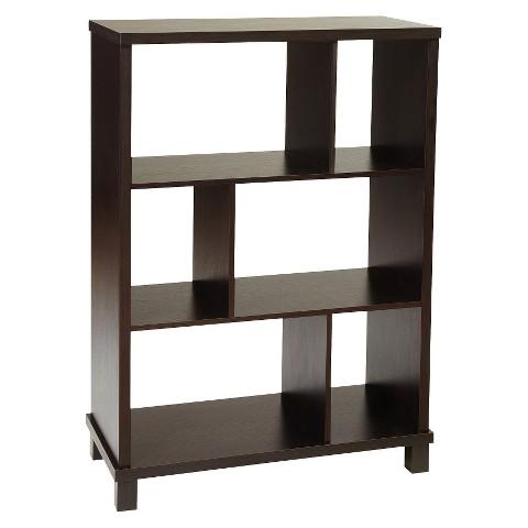 Convenience Concepts 3 Tier Northfield Bookcase - Black