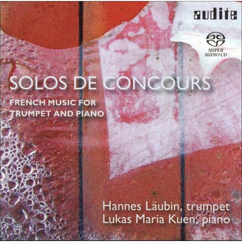 Solos de Concours: French Music for Tumpet and Piano