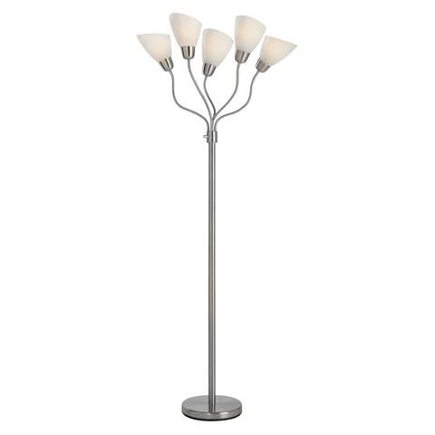 Room Essentials™ 5-Head Floor Lamp - White (Includes CFL Bulb)
