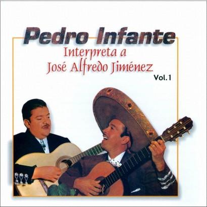 Interpreta A José Alfredo Jiménez, Vol. 1 (WEA International) (Greatest Hits)