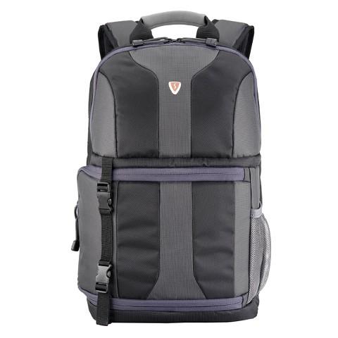 Sumdex Black Digital SLR Camera/Notebook Backpack