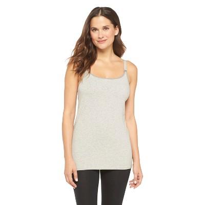 Women's Nursing Cotton Cami Heather Gray S - Gilligan & O'Malley®