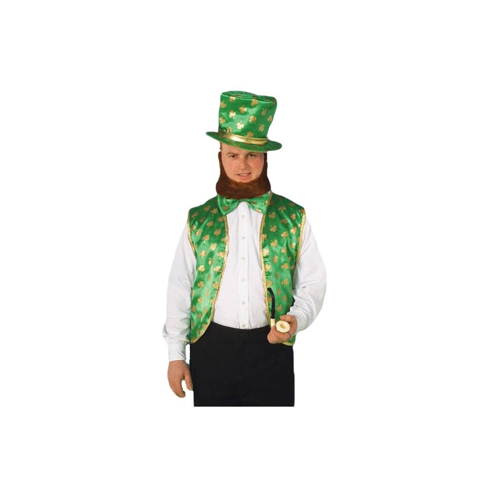 Men's Leprechaun Costume Kit, Size: OSFM, Multi-Color