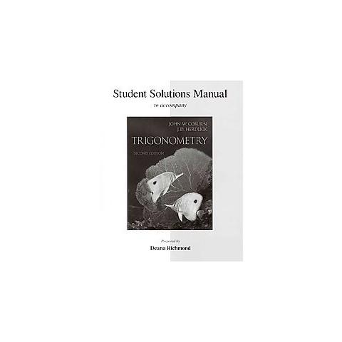 Trigonometry (Student / Solution Manual) (Paperback)
