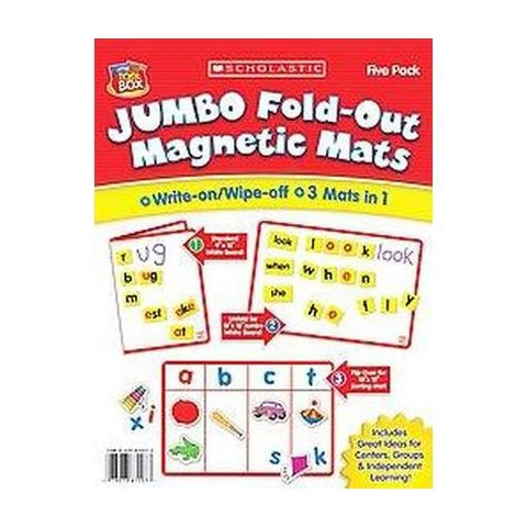 Jumbo Fold-out Magnetic Mats (Hardcover)