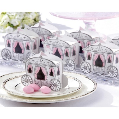 Enchanted Carriage Favor Boxes (Set of 24)