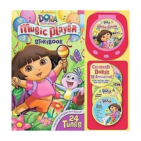 Dora the Explorer Music Player Storybook (Bilingual) (Hardcover)
