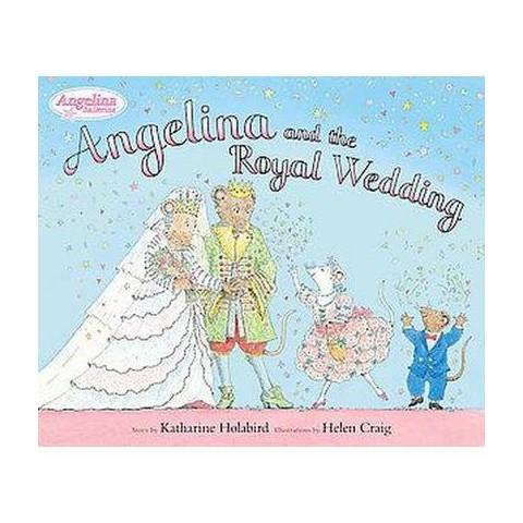 Angelina and the Royal Wedding (Hardcover)