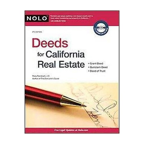 Deeds for California Real Estate (Mixed media product)