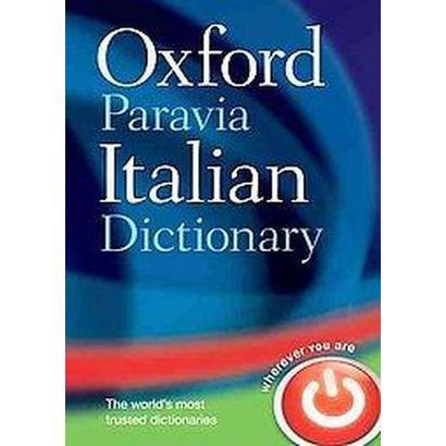 Oxford-Paravia Italian Dictionary (Bilingual) (Hardcover)