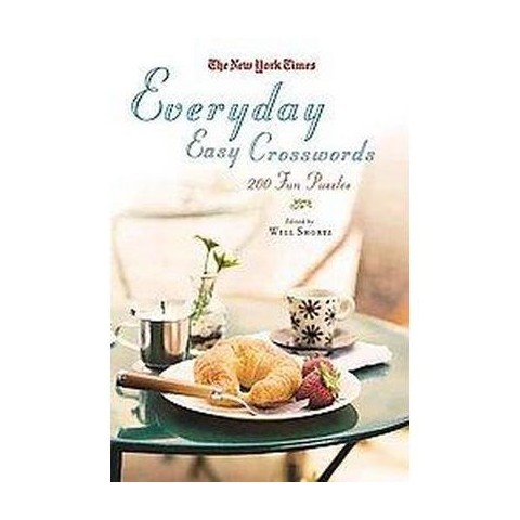 The New York Times Everyday Easy Crosswords (Paperback)