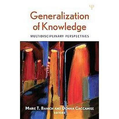 Generalization of Knowledge (Hardcover)