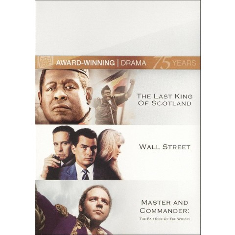 The Last King of Scotland/Wall Street/Master and Commander (Fox 75th Anniversary) (3 Discs) (Widescreen)