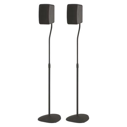 Sanus Systems HTSATB Adjustable Speaker Stand - Black