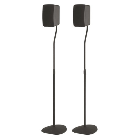 Sanus Accents Adjustable Speaker Stands (Supports up to 3.5lbs) -HTSAT-B1