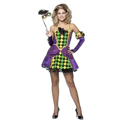 Women's Mardi Gras Queen Costume