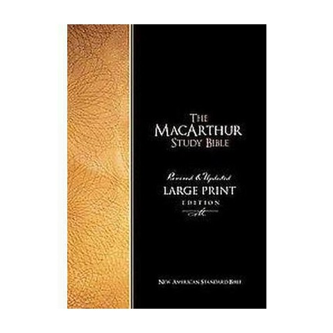 Macarthur Study Bible (Large Print) (Hardcover)