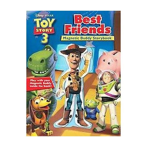Toy Story 3 Best Friends Magnetic Buddy Storybook