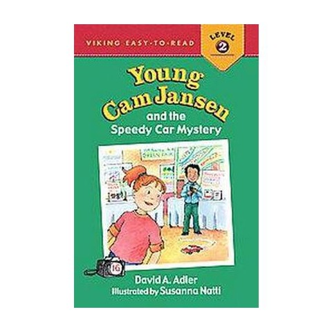 Young Cam Jansen and the Speedy Car Myst ( Young Cam Jansen: Viking Easy-to-Read: Level 2) (Hardcover)