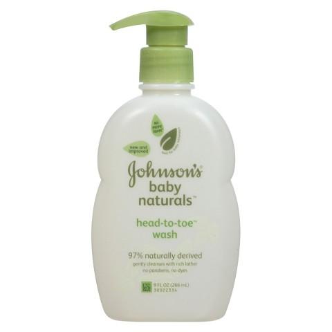 Johnson's Head-To-Toe Baby Wash - 9-oz.