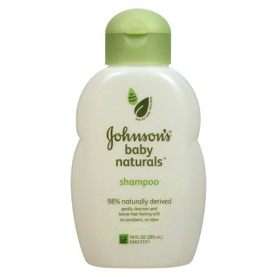 Johnson's Natural Baby Shampoo - 10 oz.