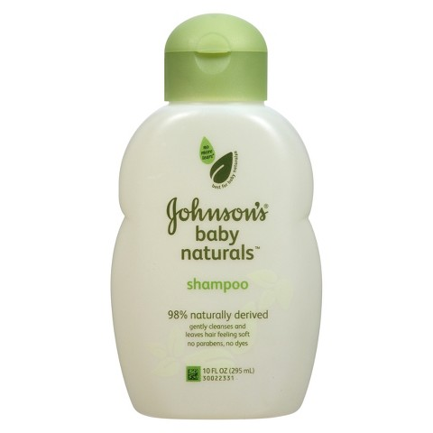 Johnson's Natural Baby Shampoo - 10 oz.