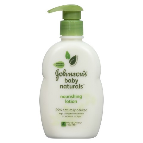 Johnson's Natural Nourishing Baby Lotion - 9 oz.