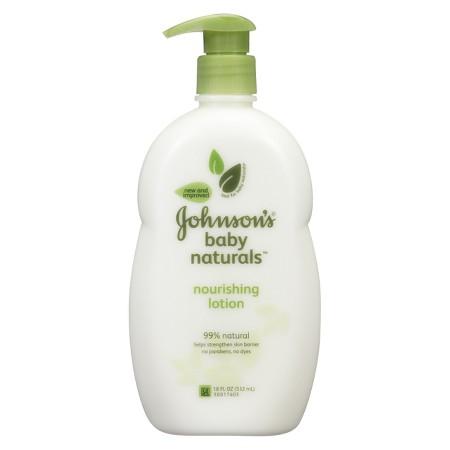 Johnson S Natural Baby Lotion Target