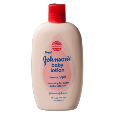 Johnson's Baby Lotion - Honey Apple (15-oz.)
