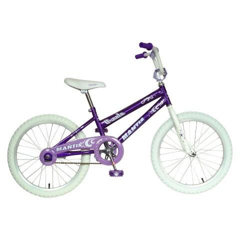"""Mantis Girls Ornata 20"""" Bike - Purple/White"""