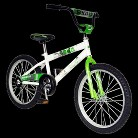"Mantis Boys Grizzled 20"" Bike - Green/White"