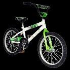 "Mantis Boys Grizzled 20"" Bike - Green/White"