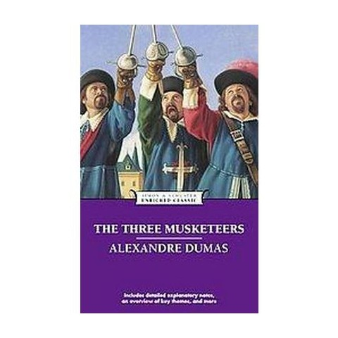 The Three Musketeers ( Enriched Classics) (Reprint) (Paperback)