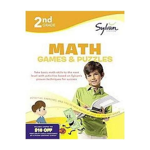 2nd Grade Math Games & Puzzles (Workbook) (Paperback)