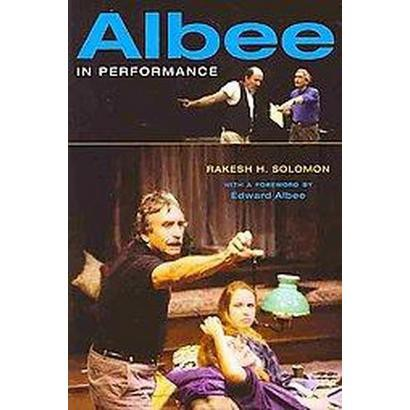 Albee in Performance (Paperback)