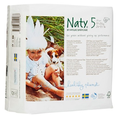 Nature Babycare Eco-Friendly Baby Diapers Case (Select Size)