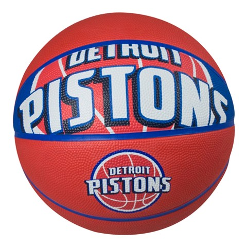 Spalding NBA Detroit Pistons basketball official size 29.6