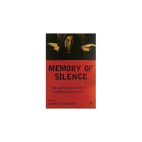 Memory of Silence (Hardcover)