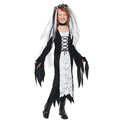 Girl's Bride Of Darkness Costume