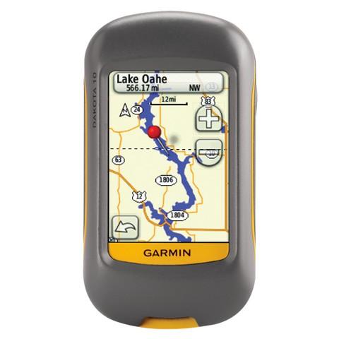 Garmin Dakota 10 Handheld Touch Screen Outdoor GPS Navigator