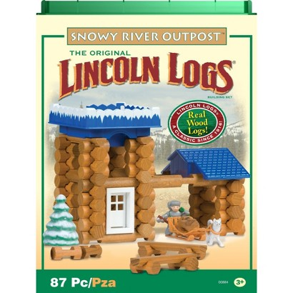 Lincoln Logs Snowy River Outpost