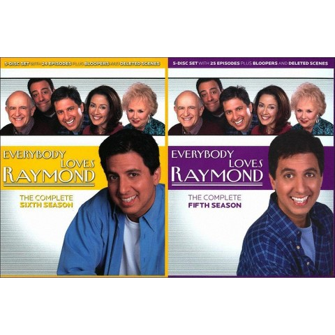 Everybody Loves Raymond: The Complete Seasons 5 & 6 (10 Discs) (Widescreen)