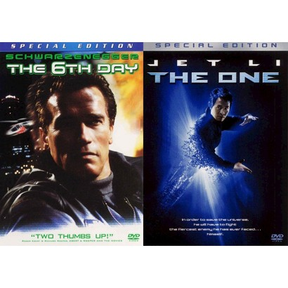 The One/The 6th Day (3 Discs) (Widescreen, Fullscreen)