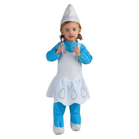Infant/Toddler Girl Smurfette Romper